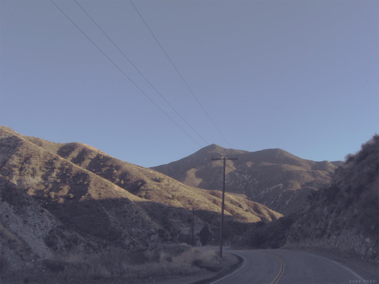 Dry desert hills.