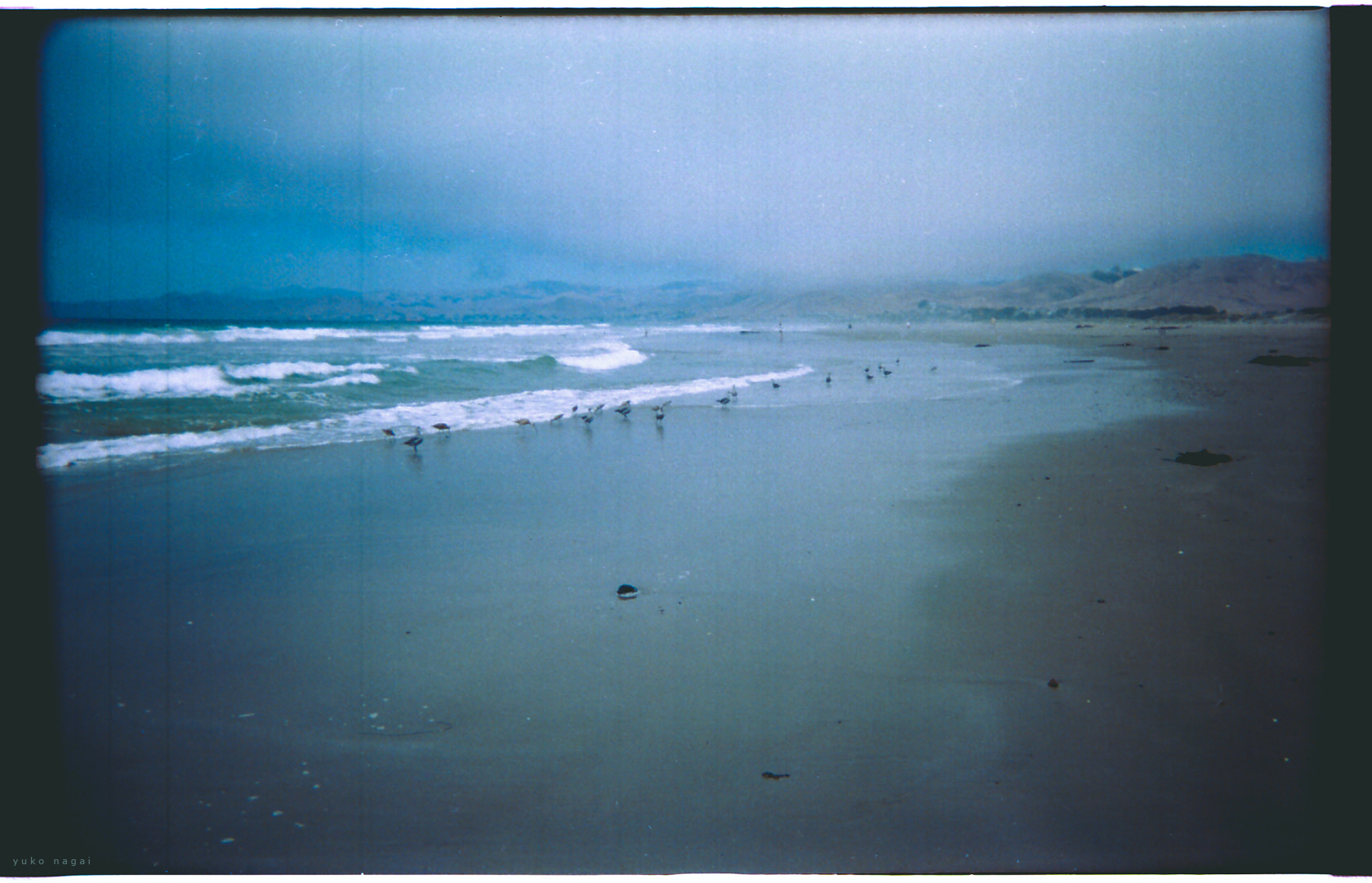 A  Californian beach.