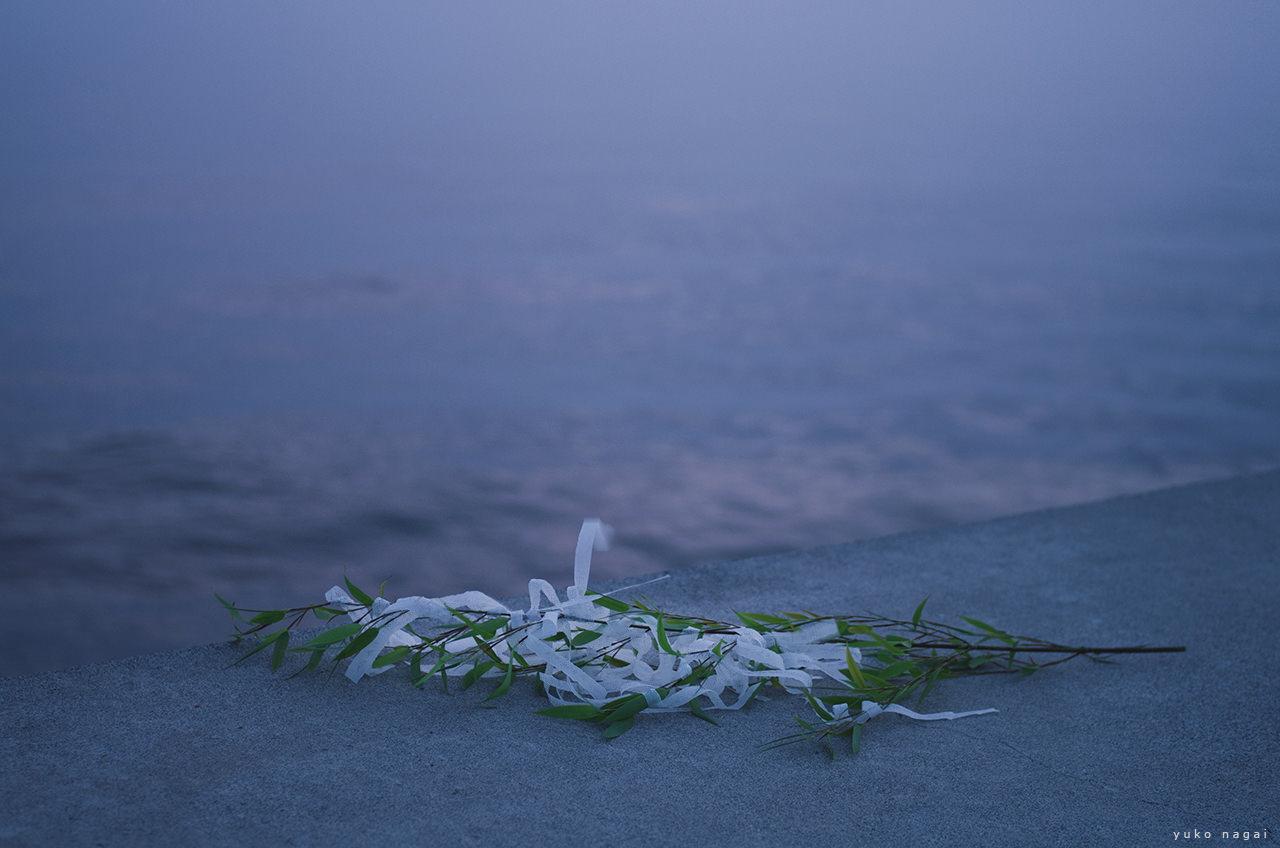 Tanabata wishes at sea side.