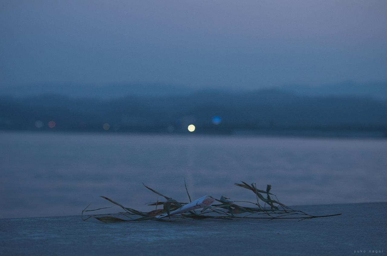 Ocean front sunset.