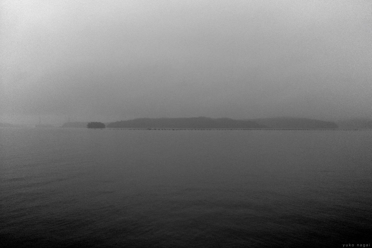 Calm sea water surface.