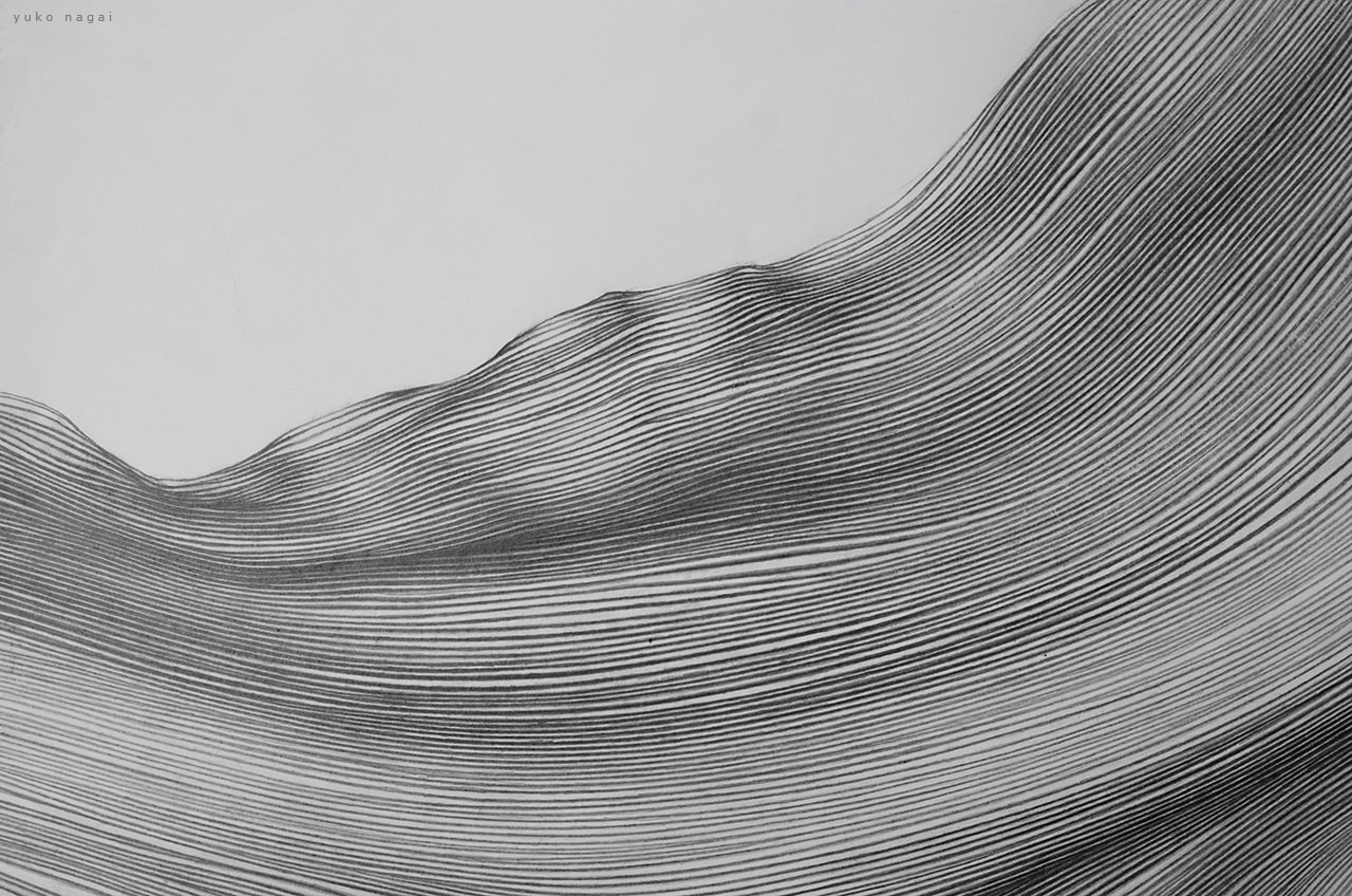 An abstract pencil drawing detail.