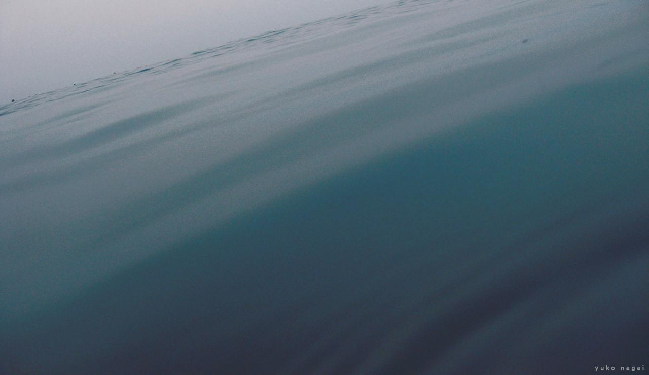 Sea surface.